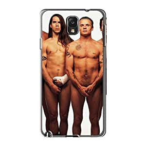 Shock-Absorbing Hard Phone Cases For Samsung Galaxy Note3 (Xge8853RSba) Customized Vivid Red Hot Chili Peppers Skin