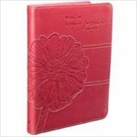 Christian Art Gifts 368077 Journal With God Pink Orchid Luxleather