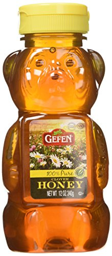 Gefen Honey Bear, 12-Ounce (Pack of 6)