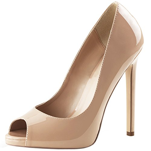 Pleaser - Sexier Than Ever Peeptoe Pumps SEXY-42