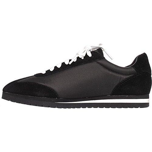 Coach Vrouwen Ian Sneaker (middernacht Marine / Krijt) Zwart / Zwart Suede / Nylon
