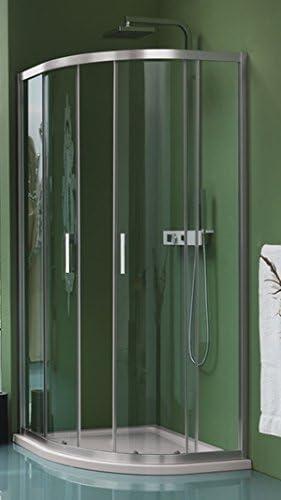 Mampara de ducha CEE Art 1/4 de redondo japonés a cuatro paneles: Amazon.es: Bricolaje y herramientas