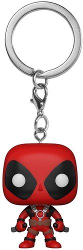 Funko Pop Keychain Playtime-Deadpool with Sword, Multicolor
