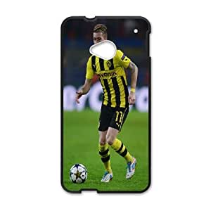 Design Durable Phone Cases Jjcoj HTC One M7 Cell Phone Case Marco Reus Hard Back Cover Protector
