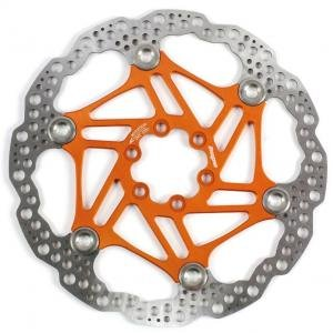 Hope Floating Disc Rotor: 160mm Orange by Hope