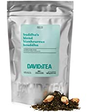 DAVIDsTEA Buddha's Blend Loose Leaf Tea, Premium Relaxing White and Green Tea Scented with Jasmine, 100 g / 3.5 oz