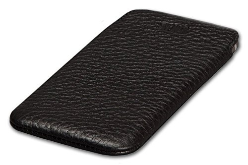 cheap for discount d7e7f 11a4a Sena Ultra Slim Leather Sleeve for iPhone 6 Plus - Black