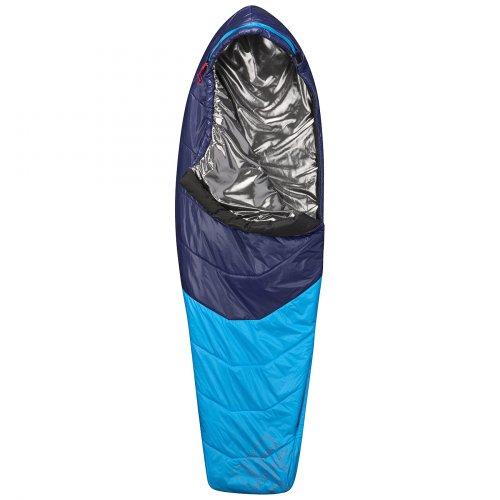 Columbia UT9907-491-O/S - Saco de dormir momia para acampada, color azul, talla 208 cm/Ouverture droite: Amazon.es: Deportes y aire libre