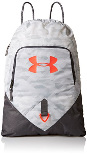 - Under Armour Ua Undeniable Sackpack, White/Neon Coral, One Size