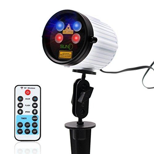 Laser Aperture Outdoor Lights