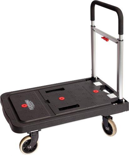 Magna Cart Flatform 300 Lb Capacity Four Wheel Folding