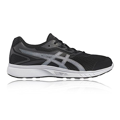 Asics Unisex Adults' Buty Stormer T741n-4507 Trainers, Blue black - grey - silver