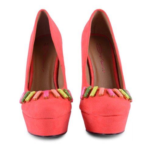 Dolcis - Zapatos de vestir de sintético para mujer rosa - Coral