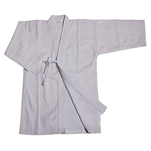 ZooBoo Mens Cotton Kendo Aikido Hapkido Hakama Martial Arts Keikogi (L/175, White)