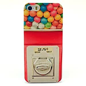 Pattern Candy Machine duro caso para iPhone 5/5S