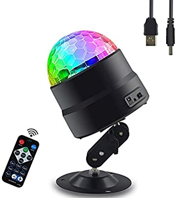 DyAn Luces de Discoteca, proyector de Onda de 7 Colores Luz de ...