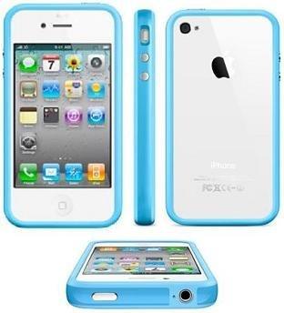 itronik® Bumper Schutzhülle für Apple iPhone 4 und 4s blau blue