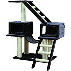 TRIXIE Pet Products Malaga Cat Playground (Dark Gray)