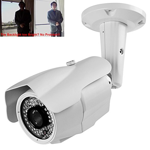 HD CVI 1080P 2.4MP 1/2.8 Sony CMOS 2.8-12mm 63IR 200ft Night View Bullet Camera with Super DWDR + Smart IR + OSD Menu For Sale