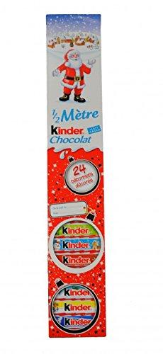 Ferrero 1/2 Meter Kinderschokolade 24 Stück auch als Adventskalender