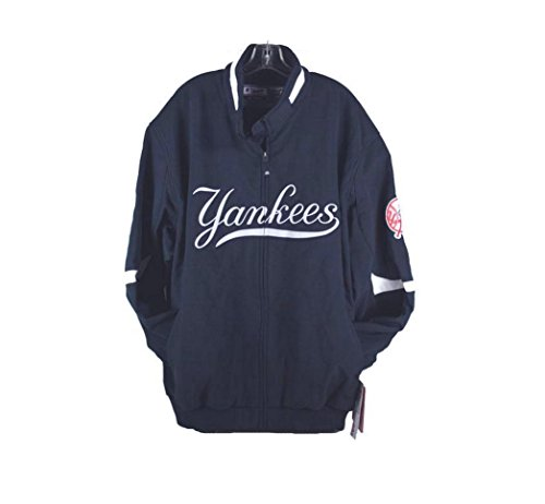 Majestic Premier Big Size Men's Jacket New York Yankees Navy Blue (4X)