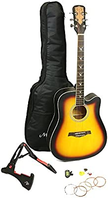 Martin Smith W-700-SB-PK - Juego de guitarra acústica, color beige ...