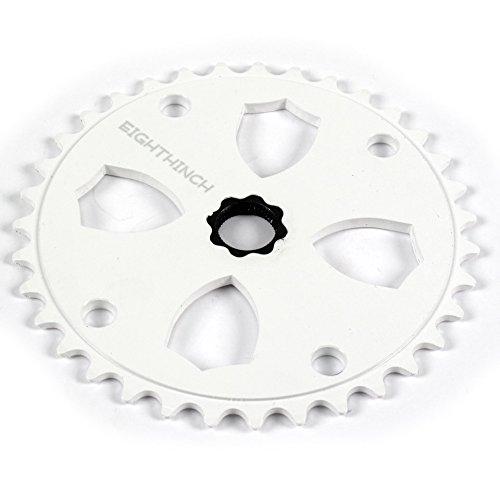 BLACK OPS BLADE 43T CHROME BICYCLE SPROCKET
