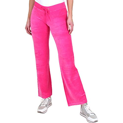 Juicy Couture Women's Velour Mar Vista Pants Dragonfruit Medium 31