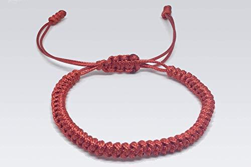 50% rebajado 2019 mejor estilo de moda Pulsera tibetana individual Roja