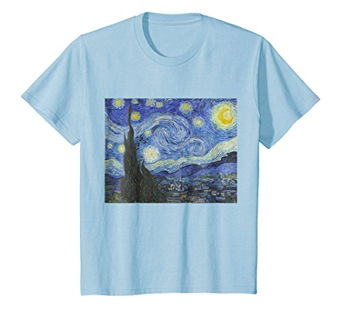 The Starry Night by Vincent Van Gogh | Famous Painting Shirt