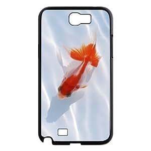 LZHCASE Diy Design Back Case Goldfish for Samsung Galaxy Note 2 N7100 [Pattern-1]