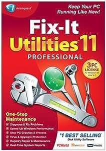 Popular Avanquest Usa Llc Fix-It Utilities 11 Professional Registry Repair Maintenance Sm Box