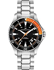 Hamilton H82305131 Silver 40mm Stainless-Steel Khaki Navy Scuba Auto Mens Watch
