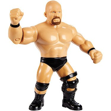 WWE Wrestling Retro Stone Cold Steve Austin Action Figure