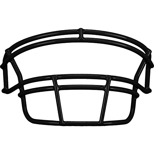 Schutt DNA ROPO YF Youth Faceguard (Black, (Dna Recruit Youth Football Helmet)