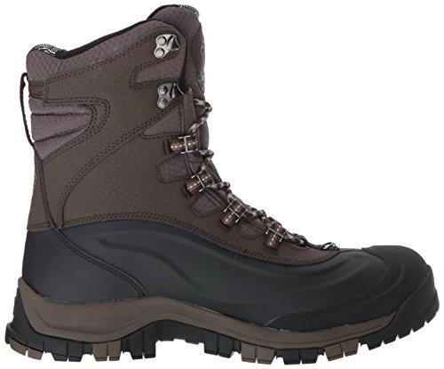 Columbia Mens Bugaboot Plus Omni-heat Michelin Snow Boot Cordovan, Antico Fossile
