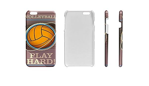 Funda Protectora Carcasa para IPhone 7 Plus Retro Voleibol: Amazon ...