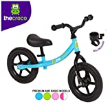 TheCroco Steel Lightweight Balance Bike for Toddlers and Kids