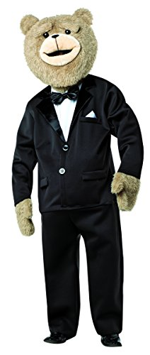 Rasta Imposta Men's Ted 2 Tuxedo Costume, Black/White, One Size