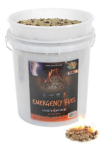 InstaFire Eco-Friendly Granulated Bulk Emergency Fuel, 5-Gallon Bucket