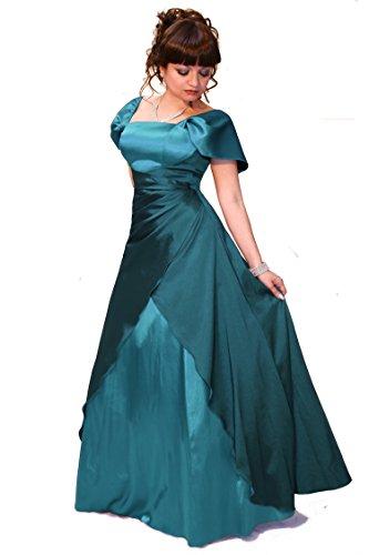 und Größe Farbe Petrol Abendkleid Damen Christine Empire Juju 6BqUU
