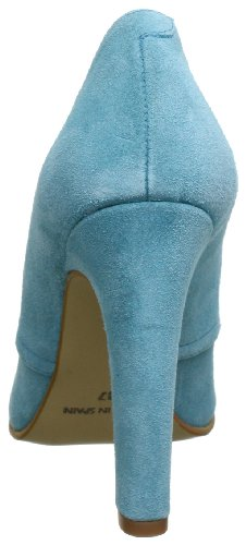Azul Blau Johannes cuero Skara para blau de Zapatos 9336 de Azul S W cordones mujer 77r1qaOn