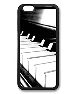 Black Case for iphone 6 Plus,Fashion Cool Art Piano Custom Protective Soft TPU Back Case Cover for iphone 6 Plus by ruishername