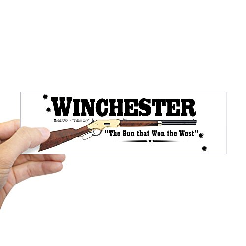 "CafePress - Winchester - 10""x3"" Rectangle Bumper Sticker Car Decal"