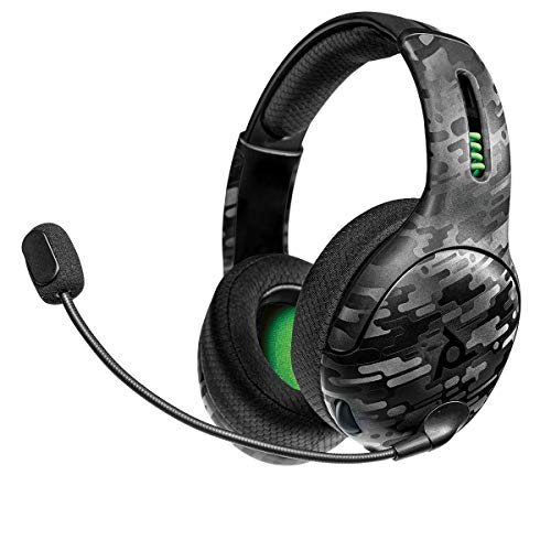 PDP Gaming LVL50 Wireless Stereo Headset: Black Camo - Xbox One, 048-025-NA-CAM - Xbox One