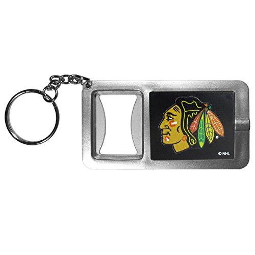 Siskiyou NHL Chicago Blackhawks Flashlight Key Chain with Bottle ()