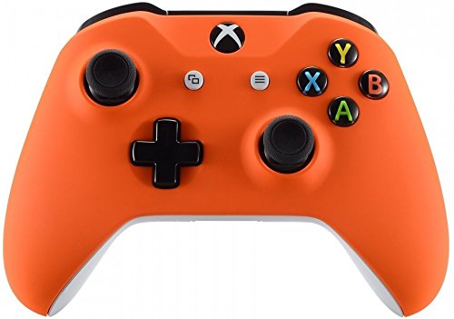 Xbox One Wireless Controller for Microsoft Xbox One - Custom Soft Touch Feel - Custom Xbox One Controller (Orange)