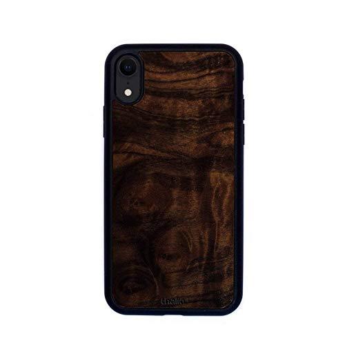 Walnut Burl Phone Case | Thalia Exotic Wood Cases iPhone Xr (Burl Walnut Case)