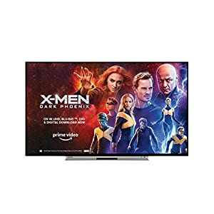 Toshiba 43UL5A63DB 43-Inch Smart 4K Ultra-HD HDR LED TV with Freeview Play – Black/Silver (2019 Model)