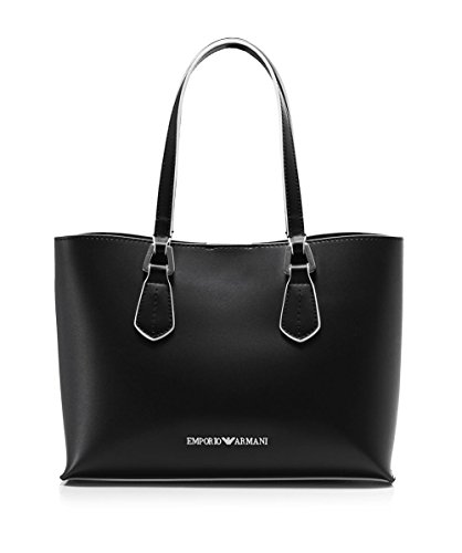 EMPORIO ARMANI SMOOTH SHOPPING BAG Y3D084YH19E Nero